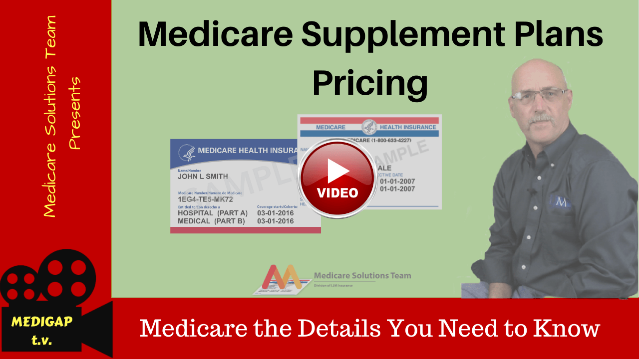 Medicare supplement pricing